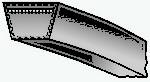Эскиз ремня клинового