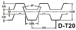 Ремень зубчатый D-T20
